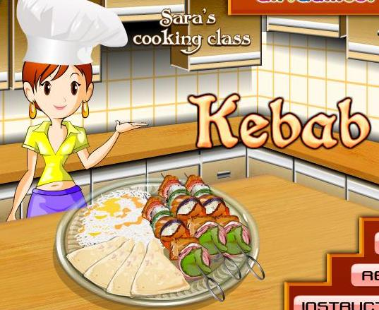 sara best cooking class games