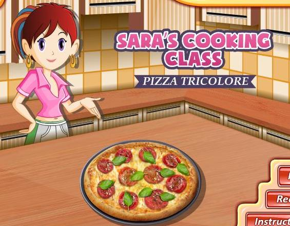 sarah cooking class game piazza tricolore recipe online