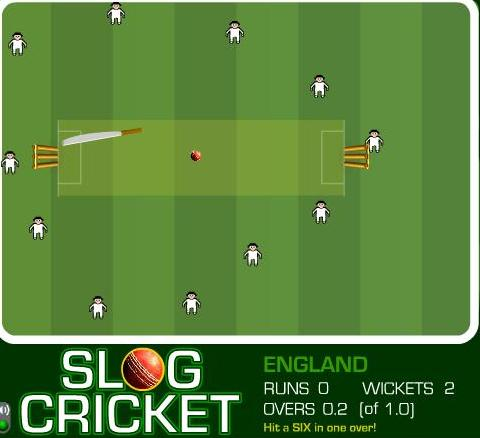 free online slog cricket game