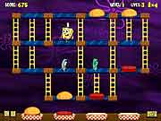 spongebob squarepants nickelodeon Pants Patty Panic game