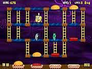 spongebob squarepants nickelodeon Pants Patty Panic game