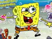 spongebob squarepants nickelodeon Anchovy Assault game