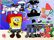 spongebob nickelodeon dress up game