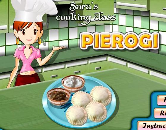 the game sara cooking class pierogi recipe online