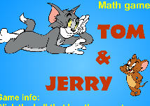 Math Game With Tom Jerry game. Jerry escapes, Tom chases. Jerry to escape, the right to...