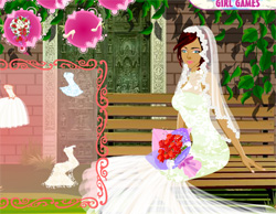 game wedding garden dress up free online