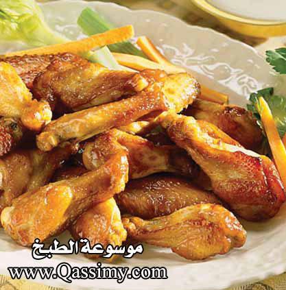 اجنحة دجاج مقلية طريقة اجنحة