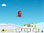 لعبة ماريو التزلج بالثلج | Mario Ice Skating