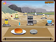 لعبة طبخ بان كيك   Pan Di Spagna Cake