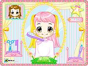 لعبة قص شعر اليسا alice hair dresser