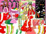 لعبة تلبيس عيد الميلاد | christmas charlotte dresses