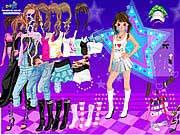 لعبة تلبيس نجمة الرقص | dancing star dress up