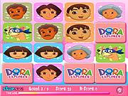 العب لعبة صور الذاكرة دورا dora mega memory
