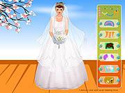 لعبة تلبيس عرائس ومكياج | romantic wedding gown dresses