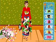 لعبة تلبيس زفاف عرائس اسيويه | wedding asian inspired dress up