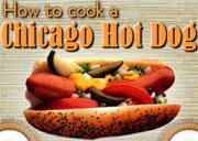لعبة طبخ شيكاغو هوت دوج | how to cook a chicago hot dog