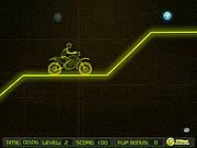 لعبة موتوسيكلات | neon racer bike