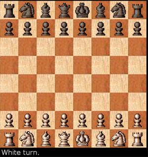 لعبة الشطرنج لاعبان battle chess