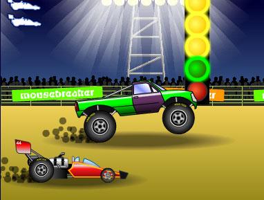 لعبة سباق السيارة المتوحشة