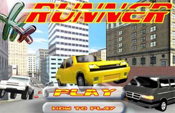 لعبة السيارة العدائيه