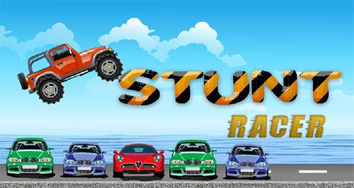 لعبة سيارة جيب المسابقات والقفز
