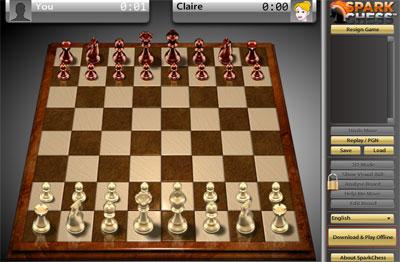 لعبة الشطرنج sparkchess