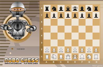 لعبة شطرنج الروبوت