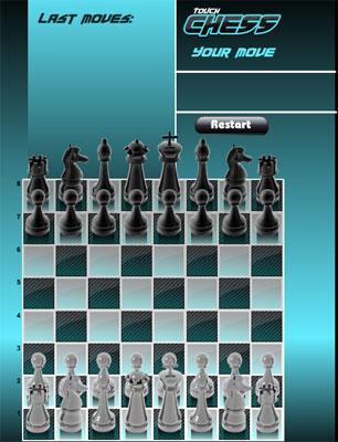 لعبة شطرنج اللمس,