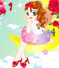 لعبة تلبيس الملابس الرومانسيه | romantic dress