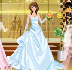 لعبة عرائس تلبيس فساتين العروس للبنات