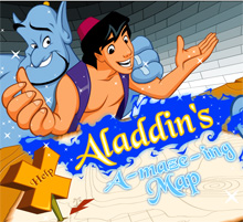 aladdin's a maze ing map a drawing game online