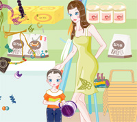 baby and mother dress up a game funny for girls free