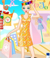 لعبة تسوق  ملابس الصيف