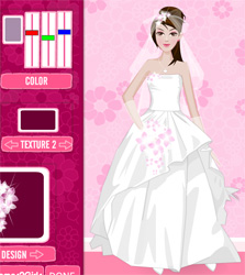 Game Design Your Wedding Dress Up Free Online Play Games