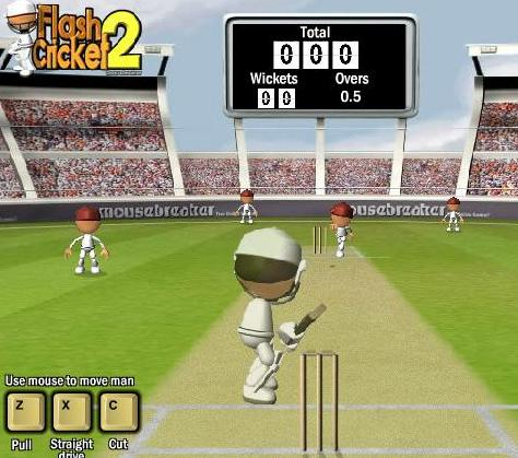 flash cricket 2 game online free to play