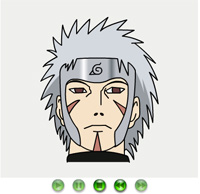 how to draw nidaime naruto a drawing game online