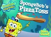 Cooking pizza toss spongebob squarepants game