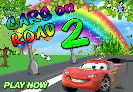 cars on road 2 game