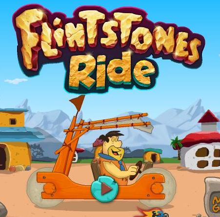 flintstones ride game