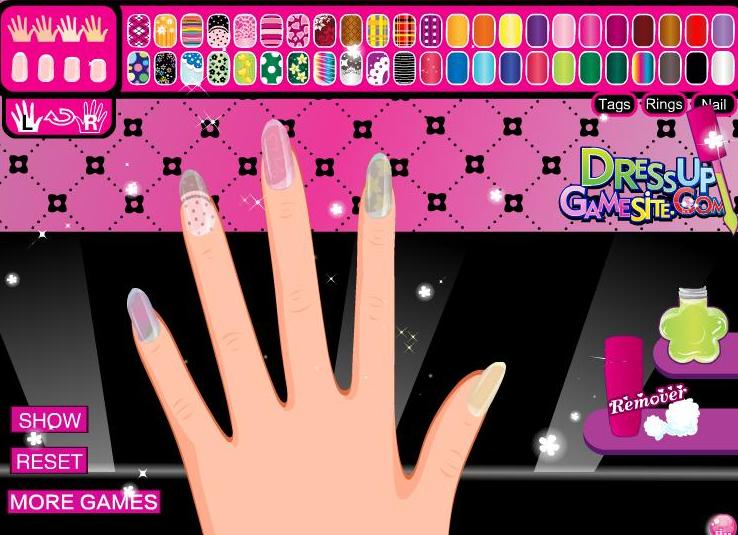 monster high draculaura's manicure girls game