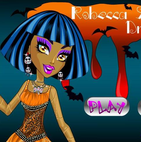 monster high robecca steam dress up girls game