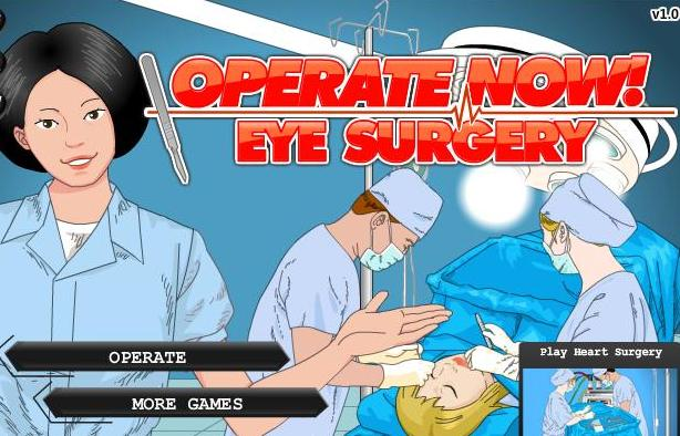 the game operate now eye surgery