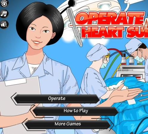 the game operate now heart surgery