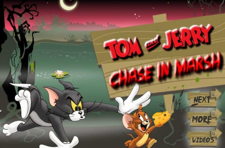 tom and jerry chase in marsh game free