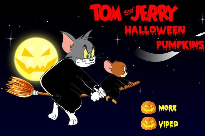 tom and jerry halloween pumpkins game free