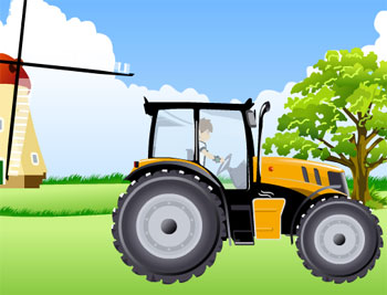 ben 10 tractor game flash free online