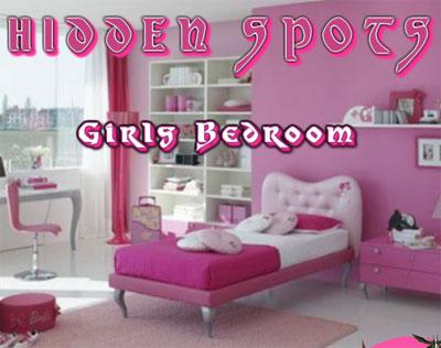 girls bedroom hidden spots game 2012