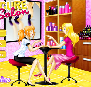 manicure salon game for girls 2012