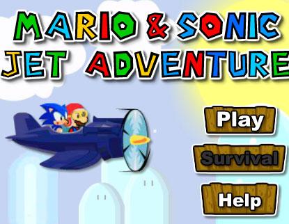 mario & sonic jet adventure free game online 2012
