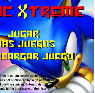 sonic xtreme free game online